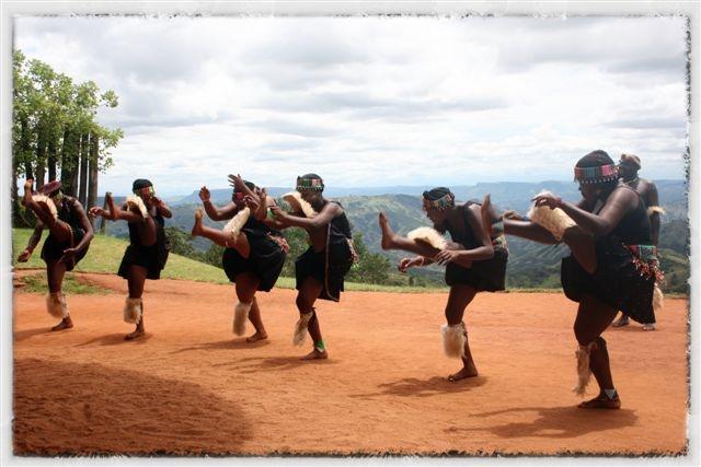 Phezulu dancers